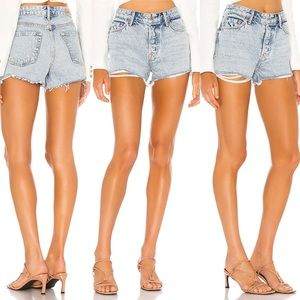 NWT $158 Grlfrnd Helena Short in True Blue